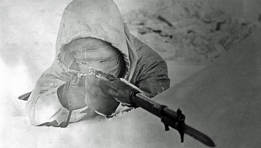 Simo Häyhä zastrzelił ponad 700 żołnierzy Armii Czerwonej (fot. Wiki)