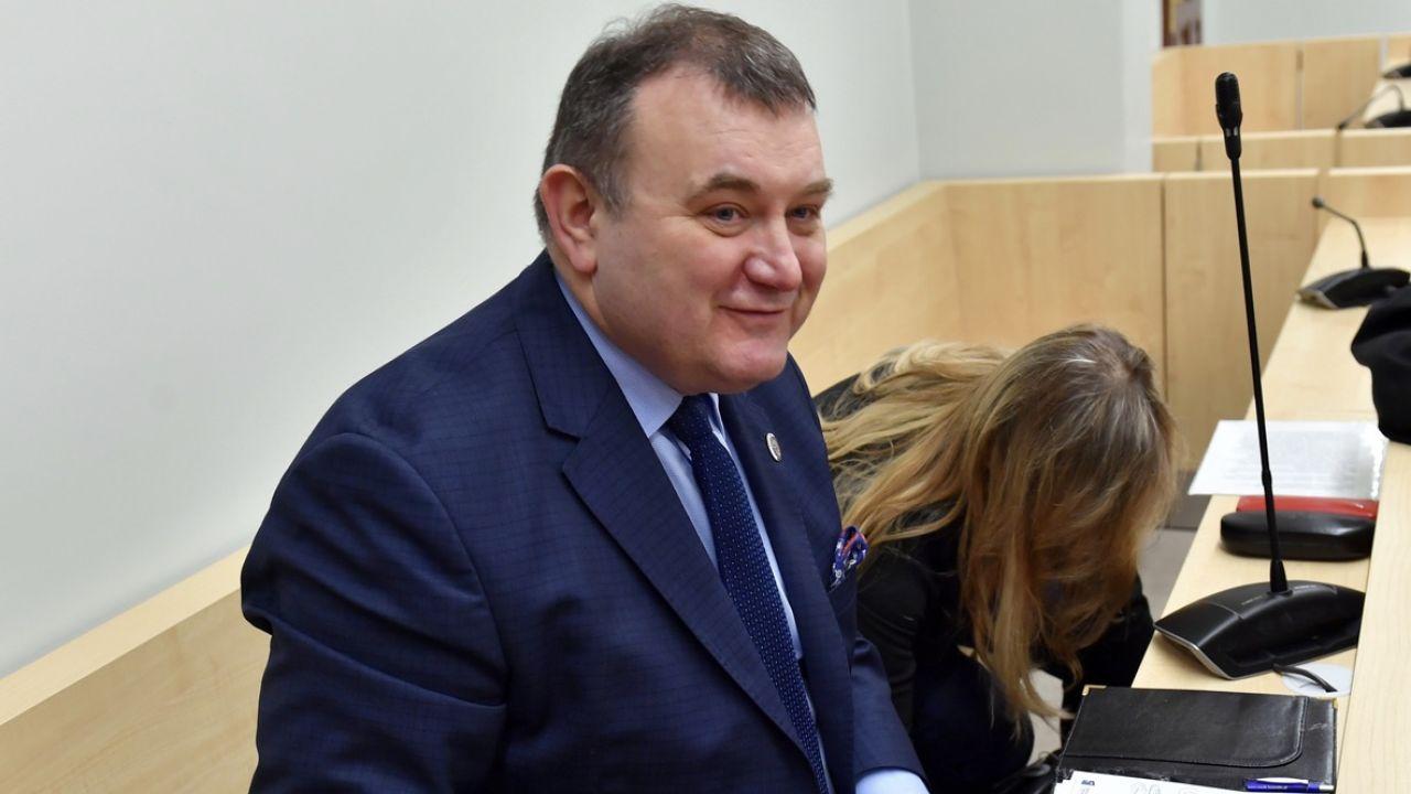 Na byłym sekretarzu PO ciążą poważne zarzuty korupcyjne (fot. arch.PAP/Marcin Bielecki)