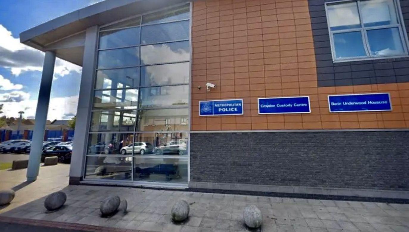 Posterunek policji w Croydon, gdzie doszło do tragedii (fot. Google StreetView)