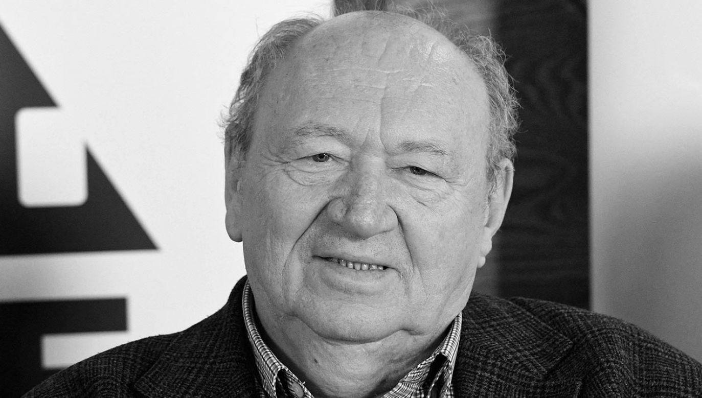 Był wieloletnim dyrektorem Wytwórni Filmów Dokumentalnych i Fabularnych w Warszawie (fot. PAP/Radek Pietruszka)