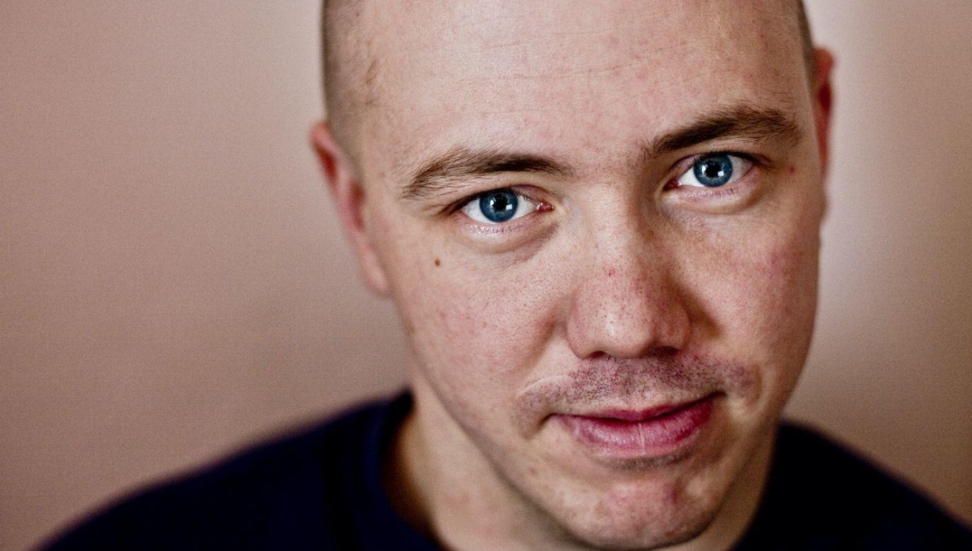 Polski aktywista i muzyk z Grodna Igor Bancer  (fot. arch.PAP/Wojciech Pacewicz)