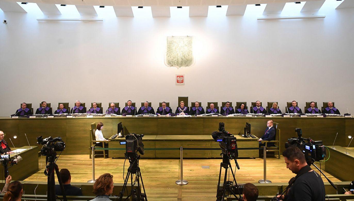 Początek posiedzenia – w którym ma wziąć udział ponad sześćdziesięciu sędziów SN – zaplanowano na godz. 10 (fot. arch.  PAP/Radek Pietruszka)
