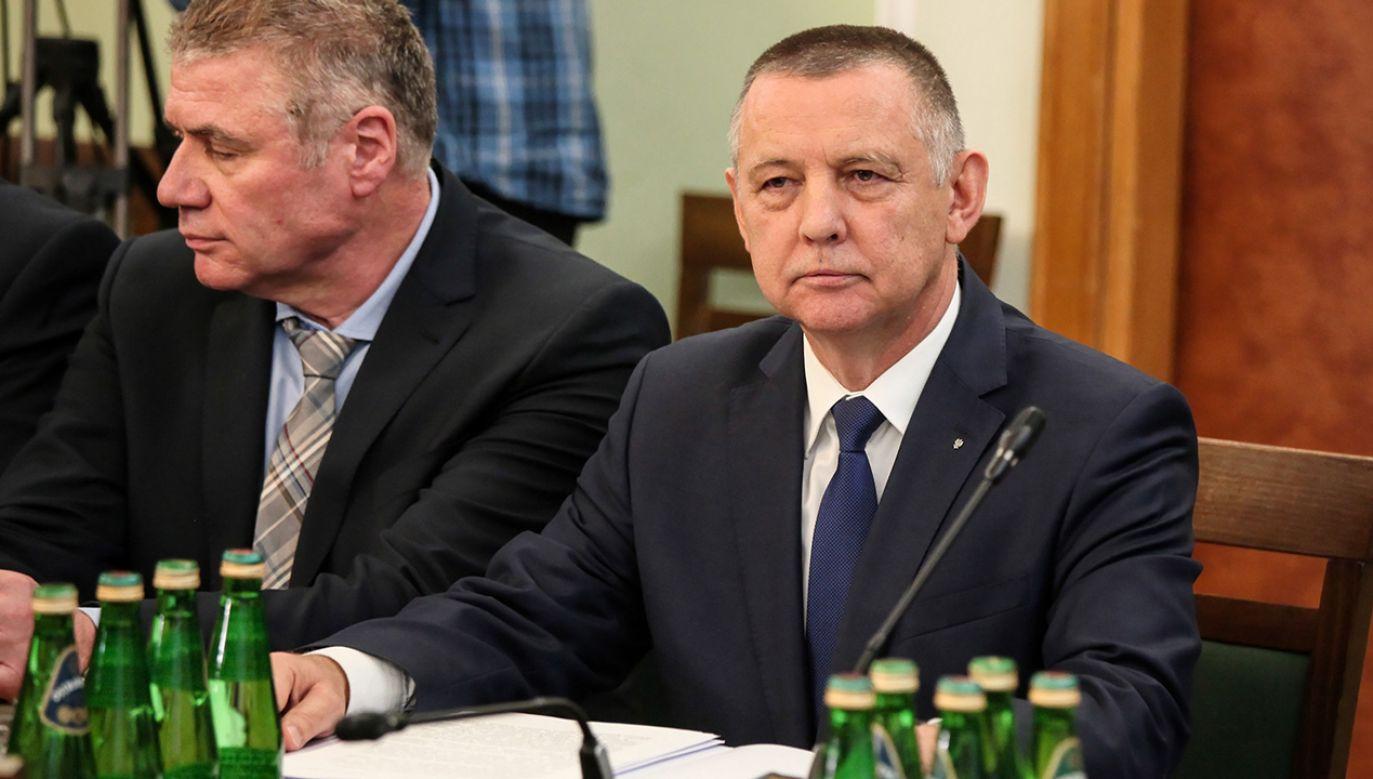 Prezes NIK Marian Banaś (P) (fot. arch. PAP/Mateusz Marek)