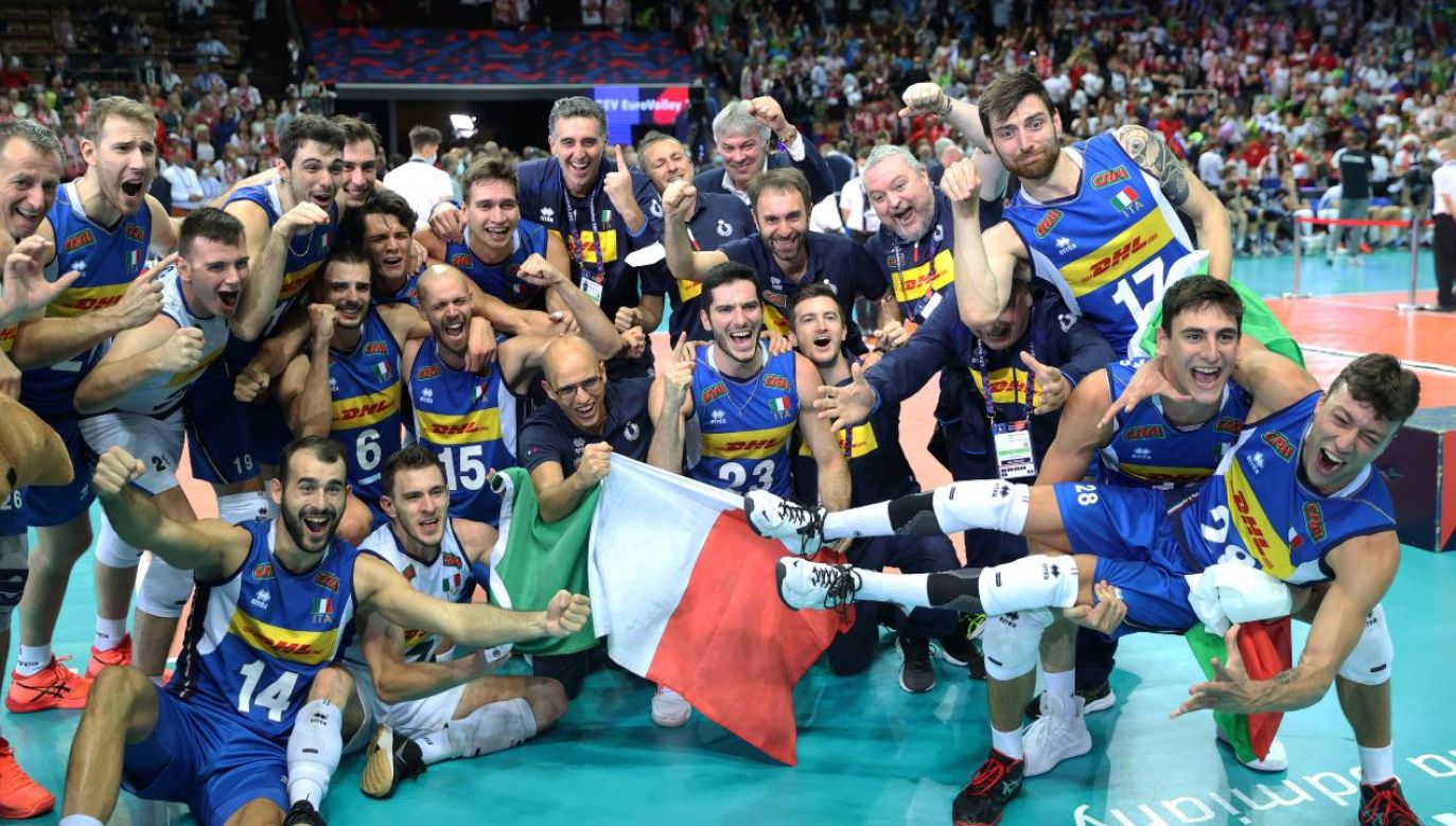 Włosi po raz siódmy zostali mistrzami kontynentu Europy (fot. PAP/Andrzej Grygiel)