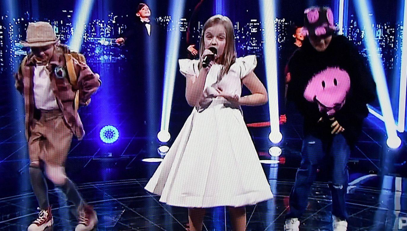 Ala Tracz na scenie (fot. PAP/Marcin Obara)