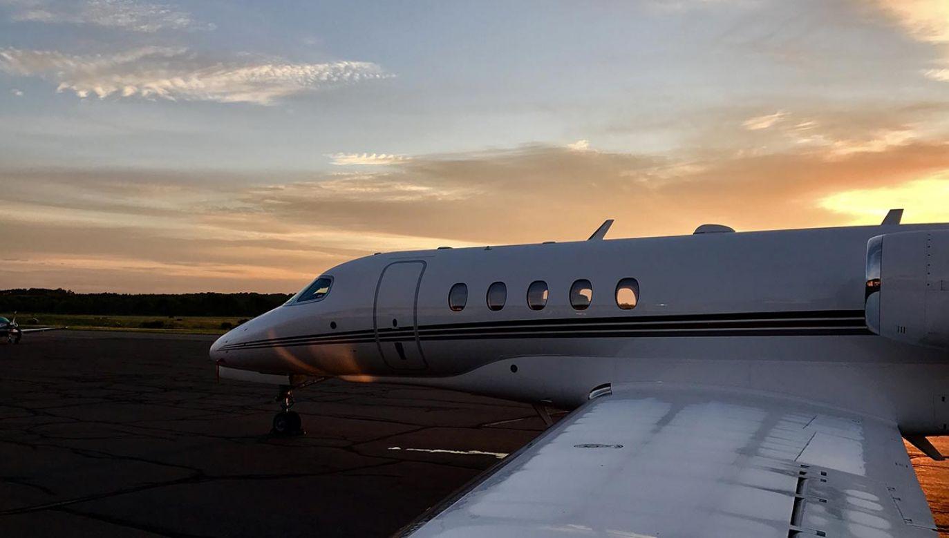 Na pokładzie samolotu były trzy osoby (fot. Shutterstock/ Grant Powers)