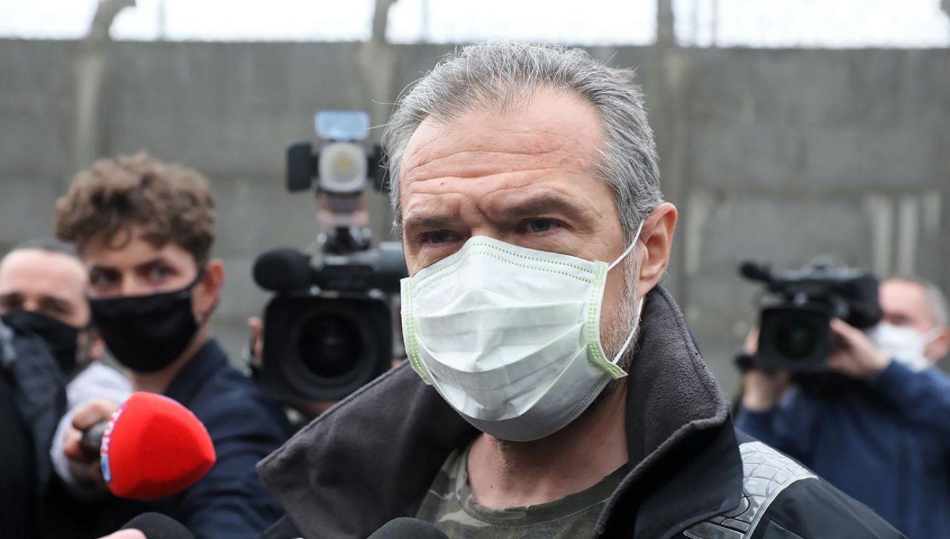 Ukraiński biznesmen podejrzany jest o wręczenie łapówek ówczesnemu kierownikowi Ukrawtodoru Nowakowi (fot.  PAP/Tomasz Gzell)