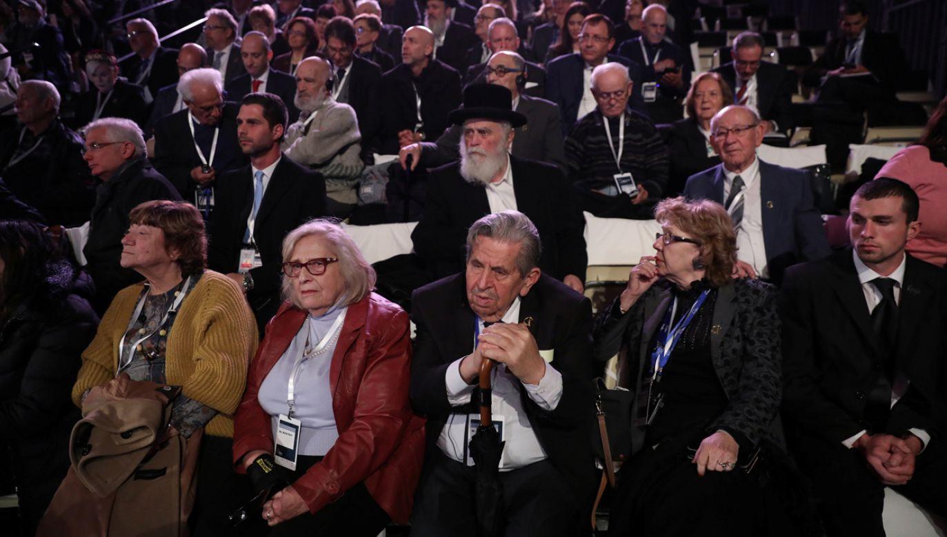 W Forum udział wzięło sześć razy więcej polityków niż ocalonych (fot. Reuters/POOL)