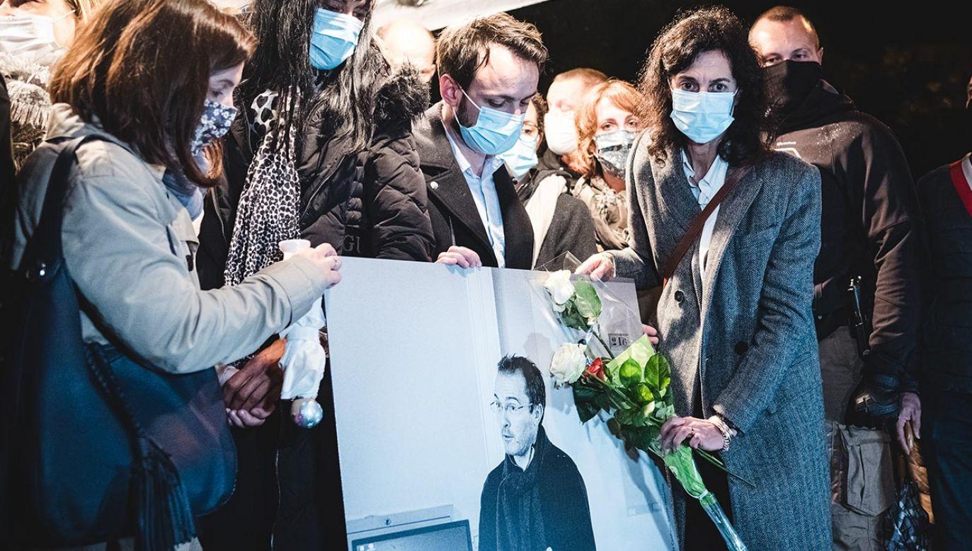 Nowe fakty ws. zabójstwa (fot. Samuel Boivin/NurPhoto via Getty Images)