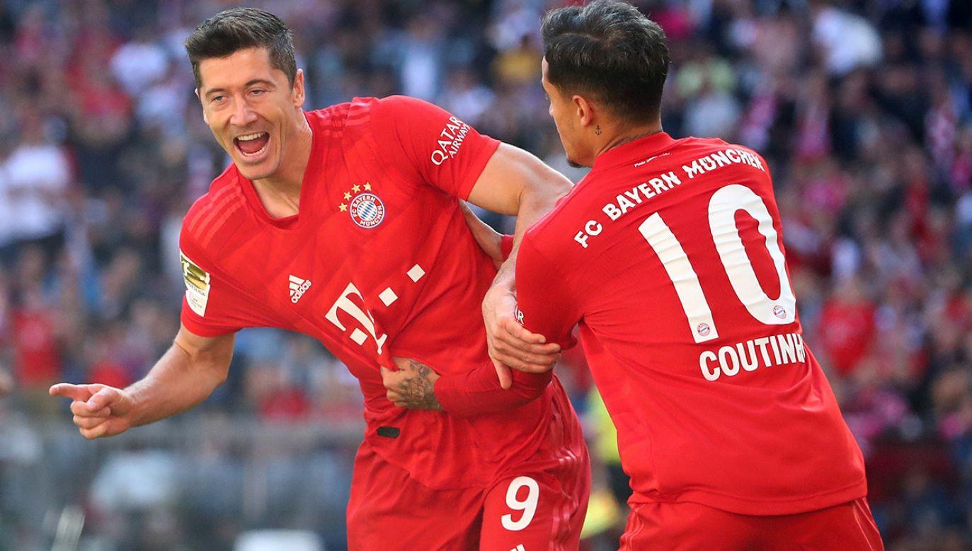 Tym razem Lewandowski został doceniony za znakomity początek sezonu w barwach Bayernu Monachium (fot. REUTERS/Michael Dalder)