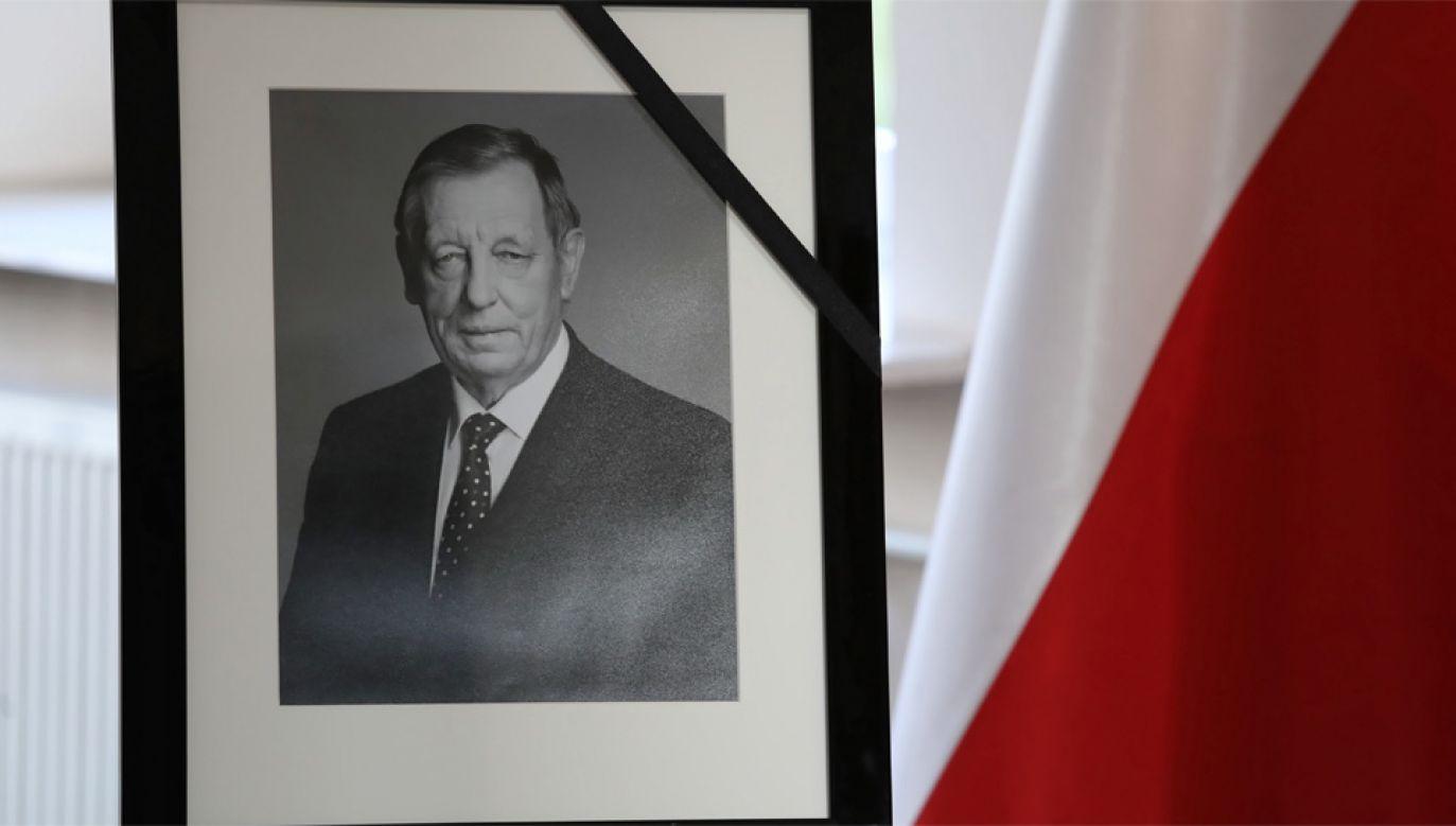 Prof. Jan Szyszko zmarł w wieku 75 lat (fot. PAP/Tomasz Gzell)