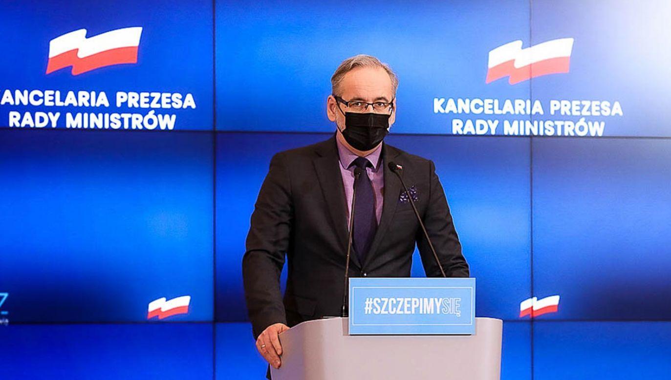 Kiedy konferencja ministra zdrowia? (fot. Krystian Maj/KPRM)