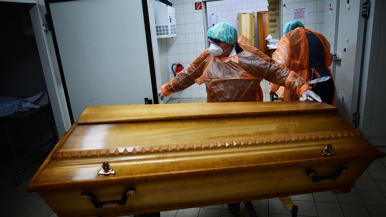 Łączna liczba zakażeń w Niemczech to 2 141 665 (fot. Alexander Koerner/Getty Images)