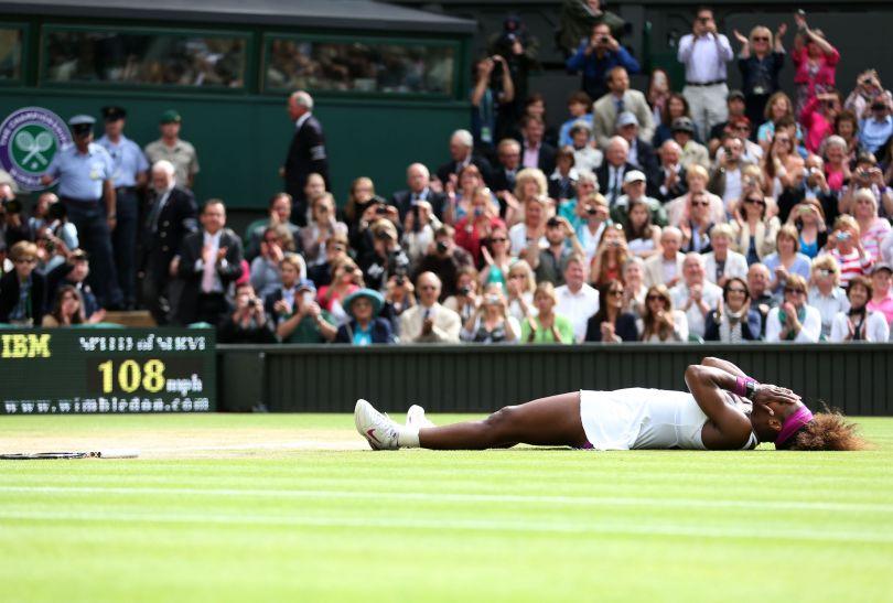 Radość Williams ze zwycięstwa (fot. Getty Images)