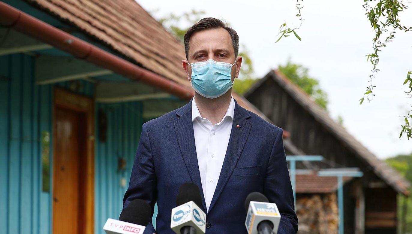 Skrytykował też Platformę Obywatelską (fot. PAP/Łukasz Gągulski)