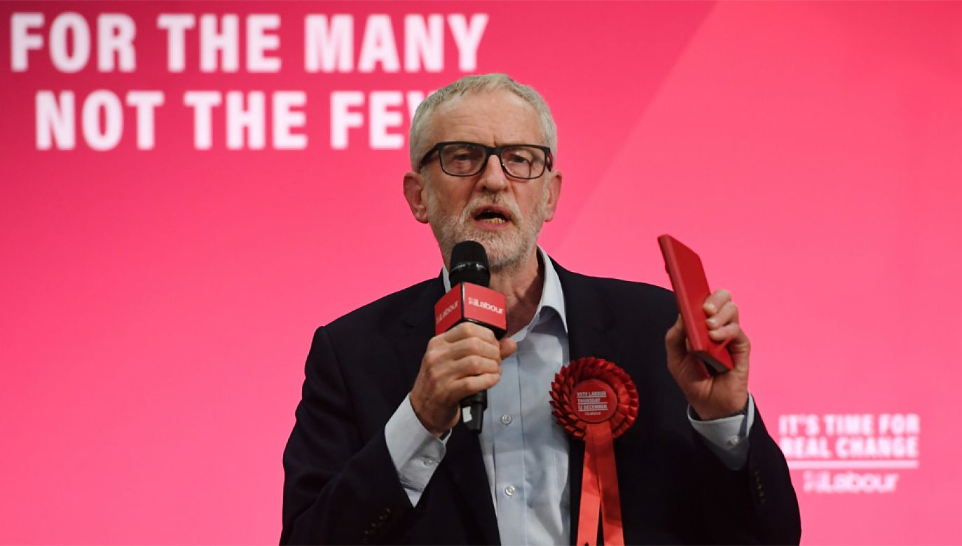 Jeremy Corbyn kieruje Partią Pracy od 2015 roku (fot. PAP/EPA/ANDY RAIN)