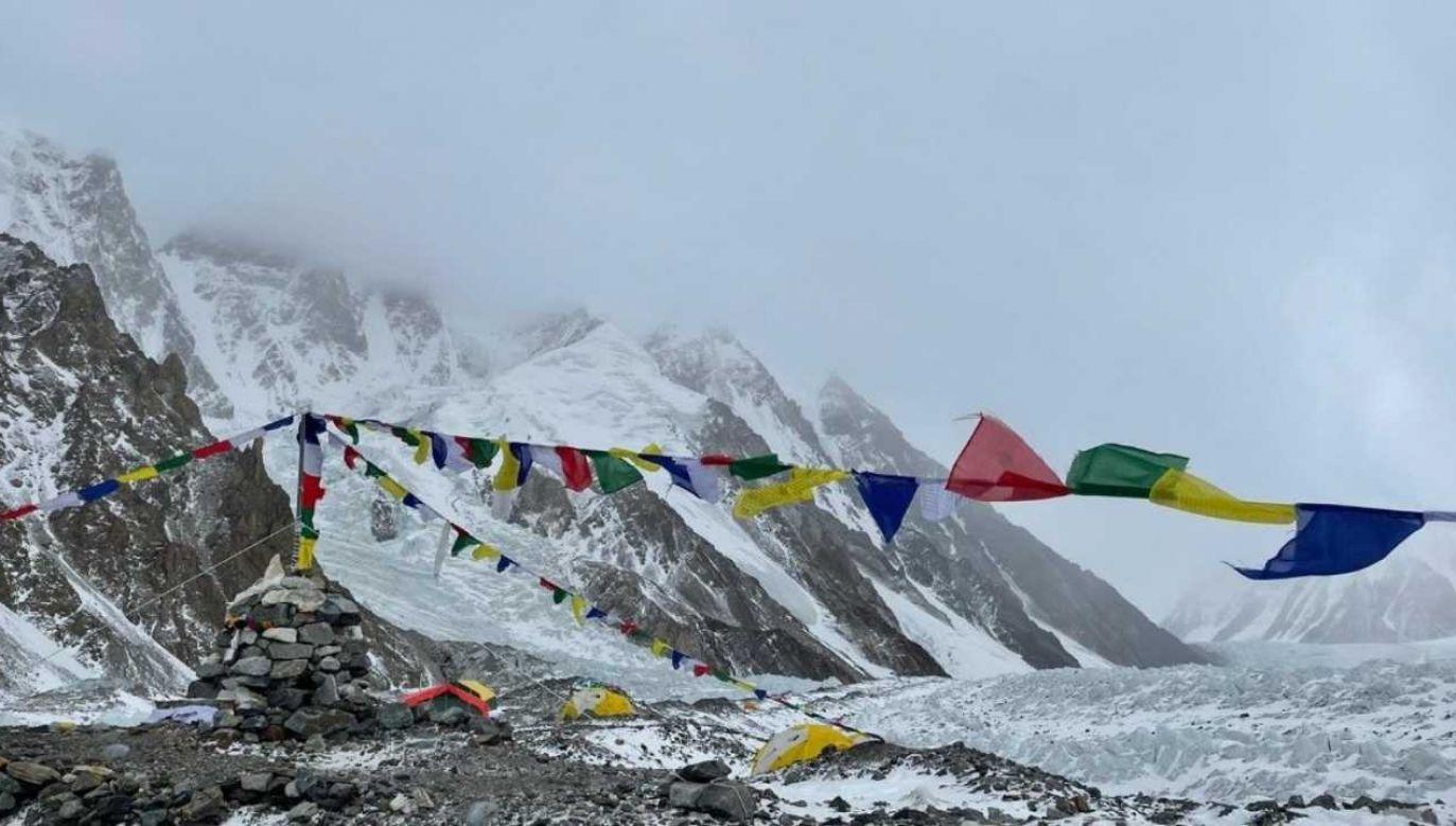 Atak na K2 musi poczekać (fot. TT/Magdalena Gorzkowska)