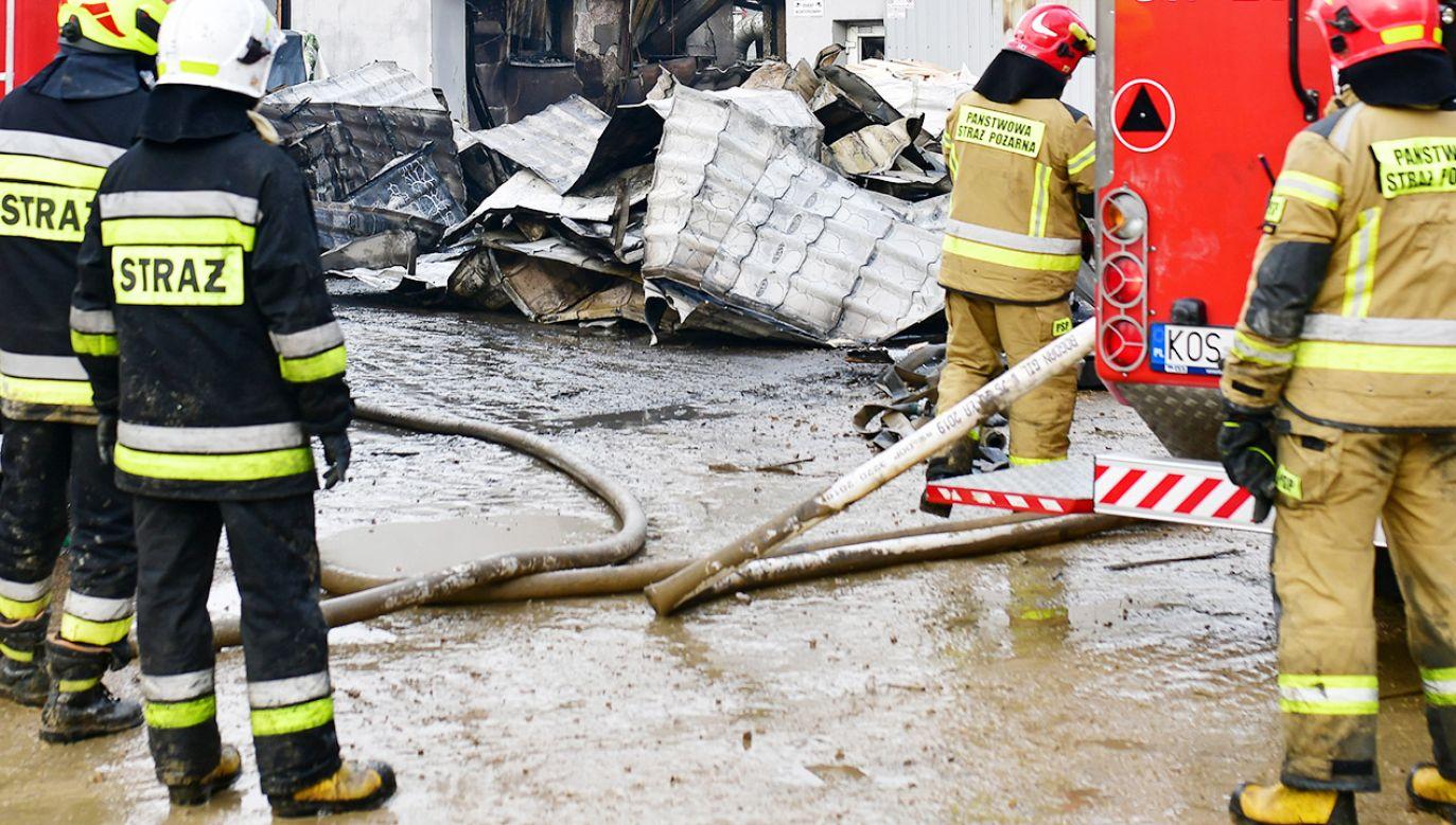 Na razie nie ma informacji o okolicznościach eksplozji (fot. PAP/Art Service 2; zdjęcie ilustracyjne)