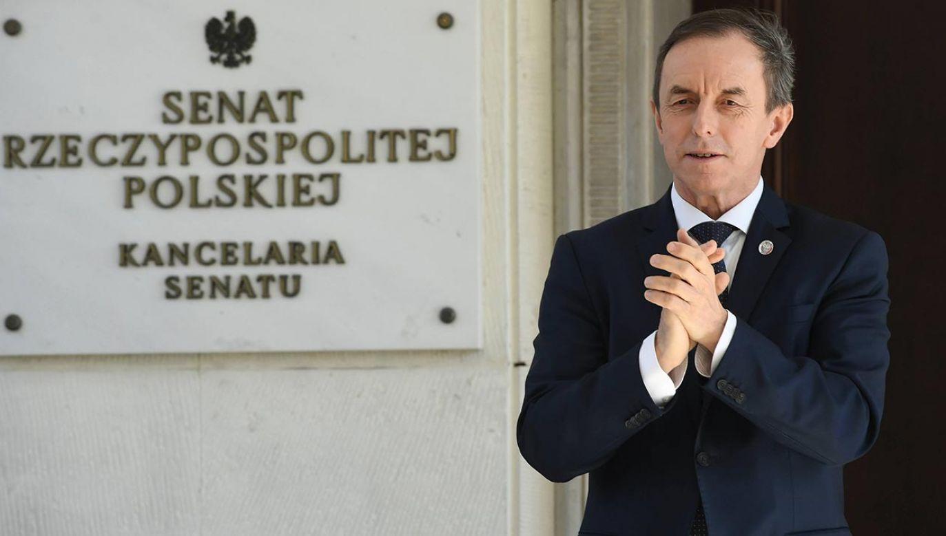 Tomasz Grodzki: Chcemy zasięgnąć opinii RPO, PKW, Sądu Najwyższego i innych (fot. PAP/Radek Pietruszka)