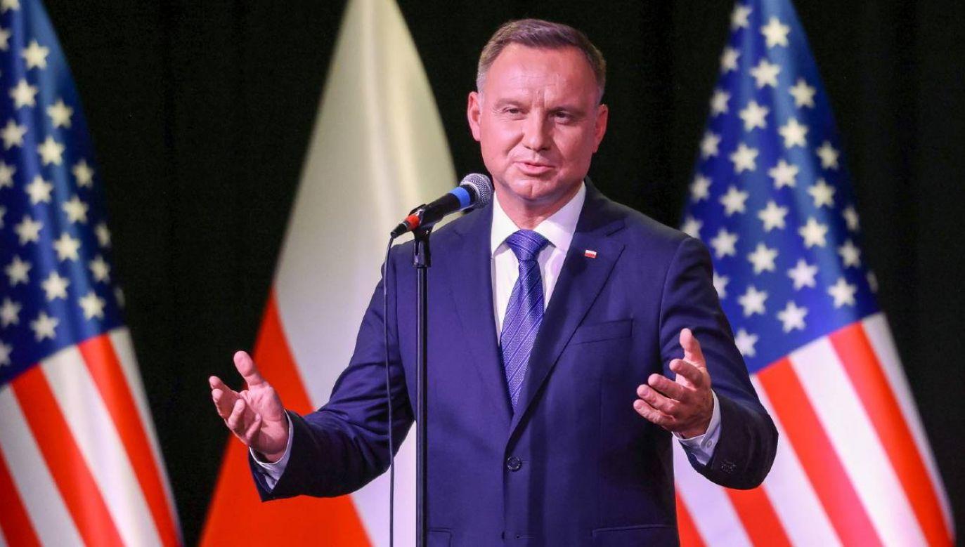 Andrzej Duda podkreślił, że uważa się za konserwatywnego polityka (fot. PAP/KPRP/Grzegorz Jakubowski)