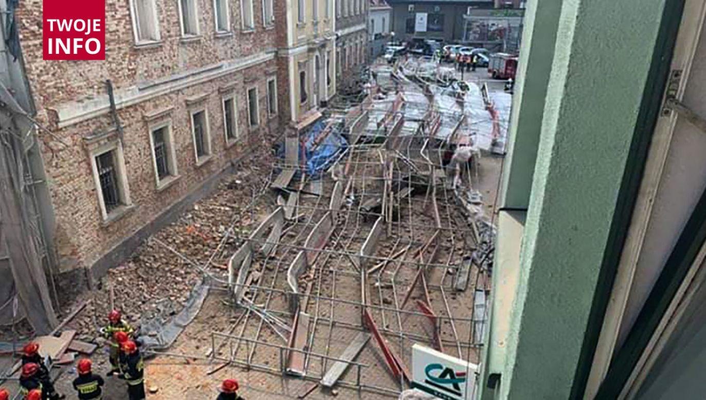Remont budynku został wstrzymany do odwołania (fot. Twoje Info)