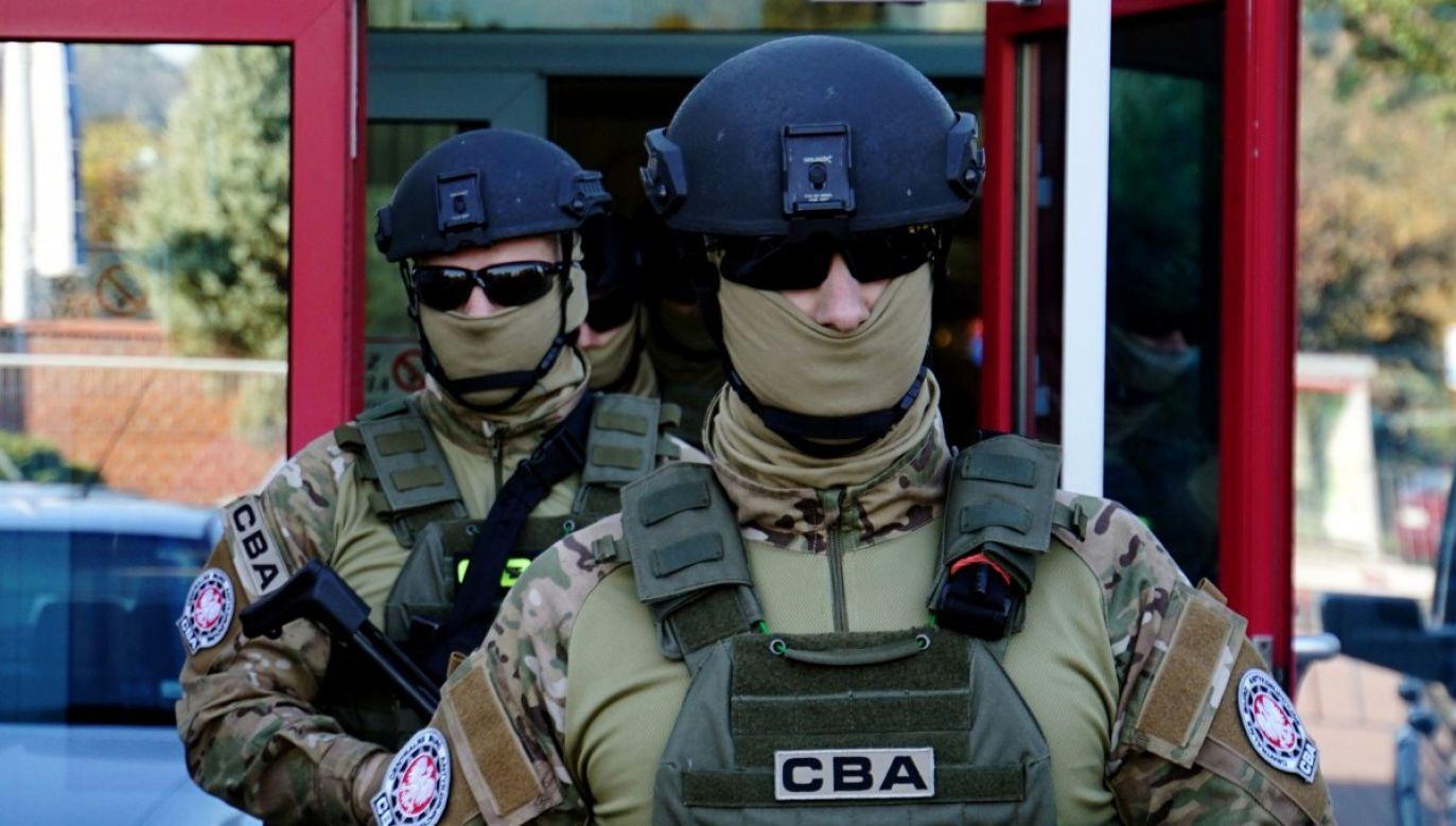 Do zatrzymań doszło w jednej z restauracji w Jarosławiu na Podkarpaciu (fot. CBA)