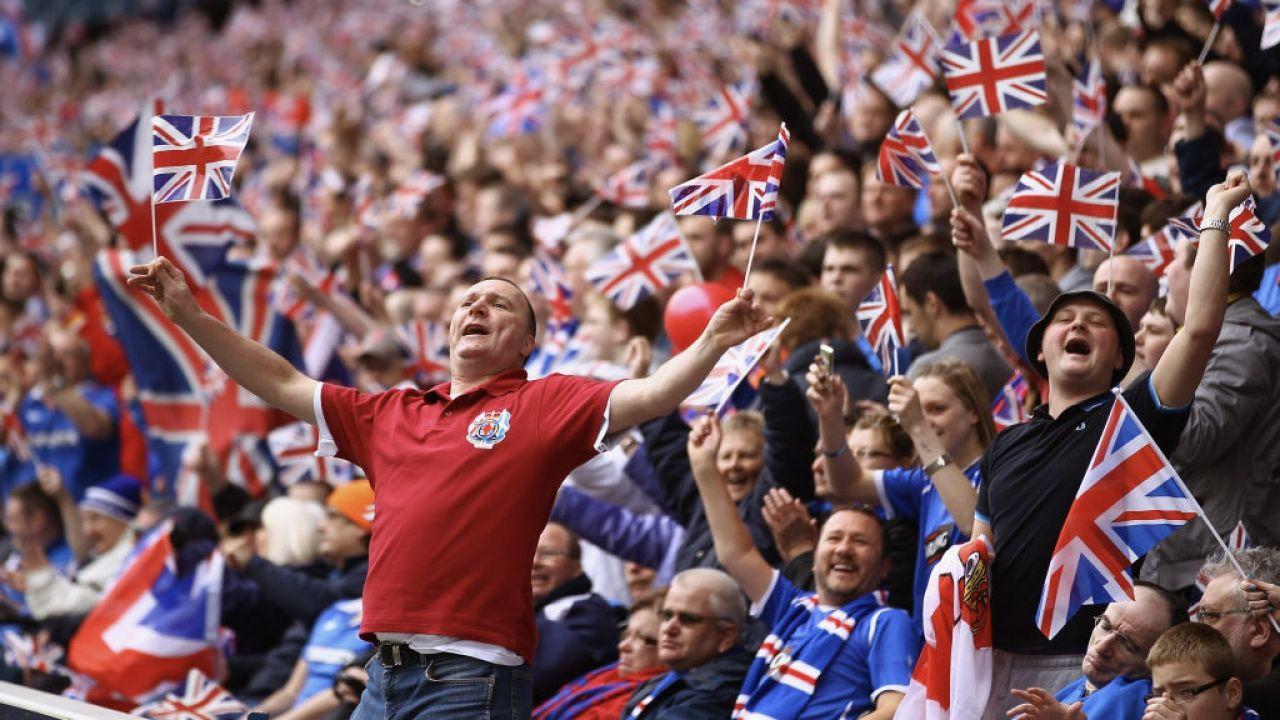 Istnieje duża szansa,że kibice do ostatniego miejsca wypełnią stadion Wembley podczas Euro 2020 (fot. J.J Mitchell/Getty Images)