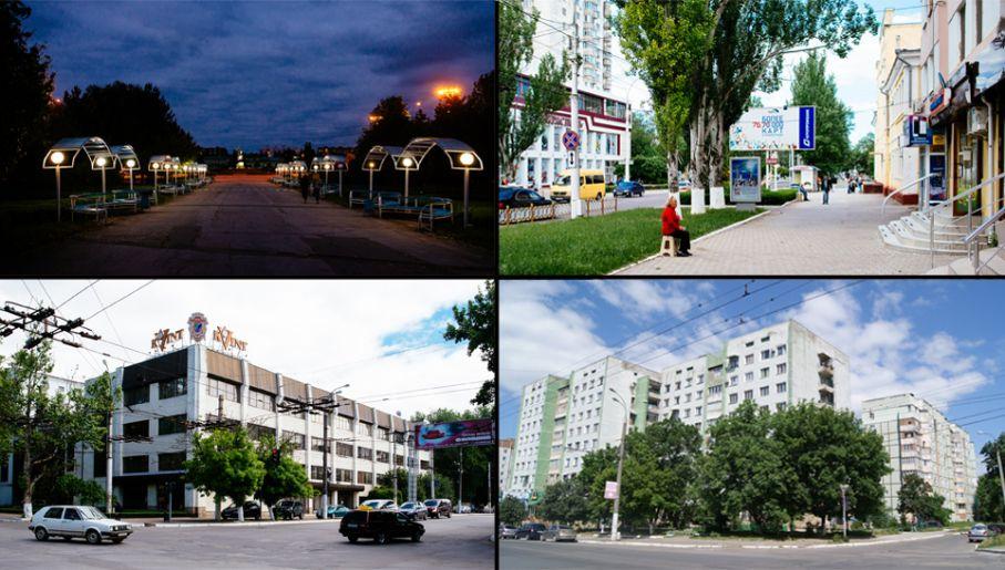 Nad Dniestrem; typowe bloki mieszkalne w Tyraspolu; wytwórnia koniaków Kvint, ulica Lenina (fot. Kuba Głębicki)