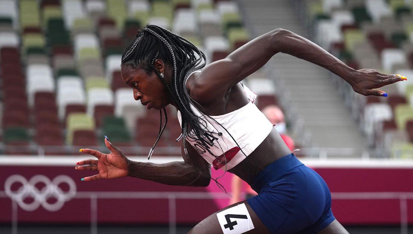 W Tokio Christine Mboma dwukrotnie pobiła rekord świata juniorek w biegu na 200 m (fot. Forum/ALEKSANDRA SZMIGIEL)