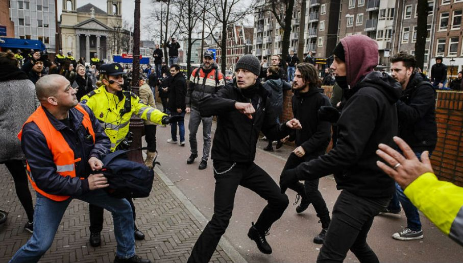 Amsterdam (fot.  PAP/EPA/REMKO DE WAAL)