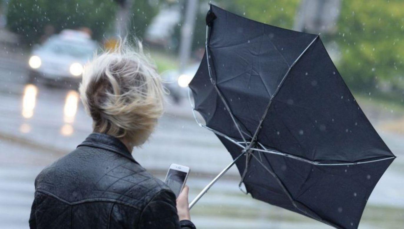 Mieszkańcy południa kraju powinni zachować szczególną ostrożność (fot. TVP)