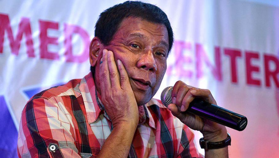 Znalezione obrazy dla zapytania: Filipiny, Duterte, foto