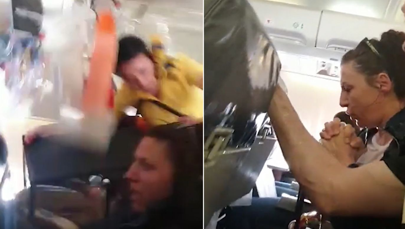 Poparzonych zostało co najmniej 10 osób (fot. YT/  Storyful Rights Management)