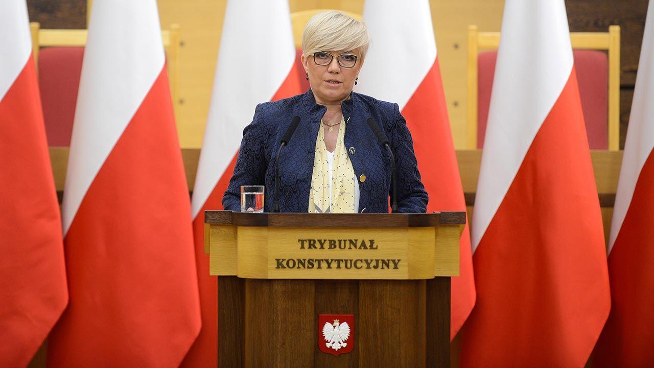 Podobnie orzekał polski Trybunał Konstytucyjny – przypomniała Julia Przyłębska (fot. PAP/Jakub Kamiński)