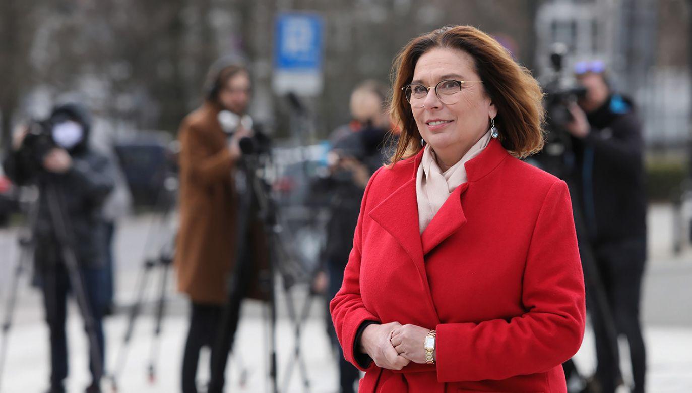Kandydatka KO na prezydenta chciałąby przełożenia terminu wyborów z powodu epidemii koronawirusa (fot.  PAP/Leszek Szymański)