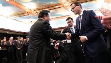 Premier weźmie udział w 50. Światowym Forum Gospodarczym w Davos (fot. PAP/Leszek Szymański)