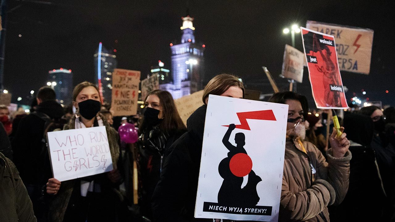 Organizatorzy zapowiadają cotygodniowe blokady (fot. Aleksander Kalka/NurPhoto via Getty Images)