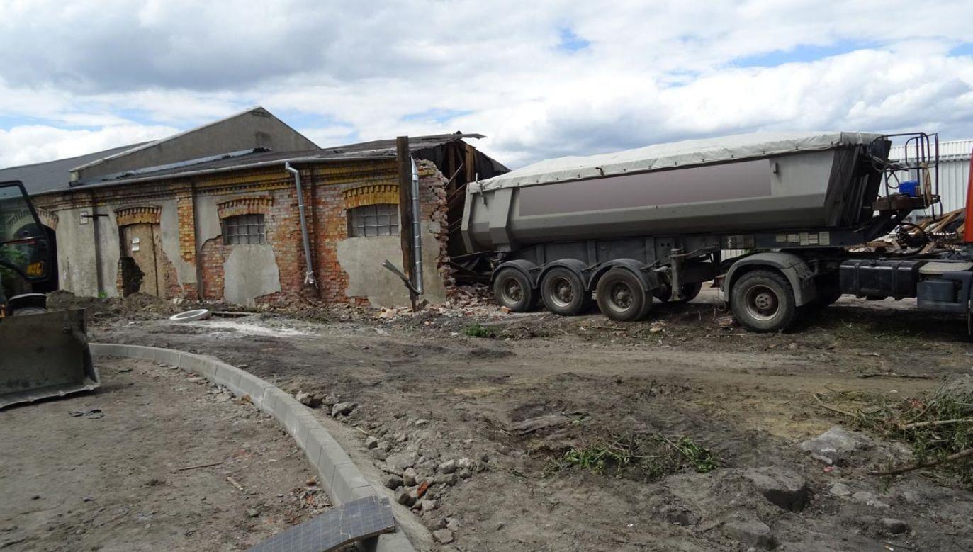 Wyburzenie obiektów odbyło się z naruszeniem prawa o ochronie zabytków (fot. Mazowiecki Wojewódzki Konserwator Zabytków)