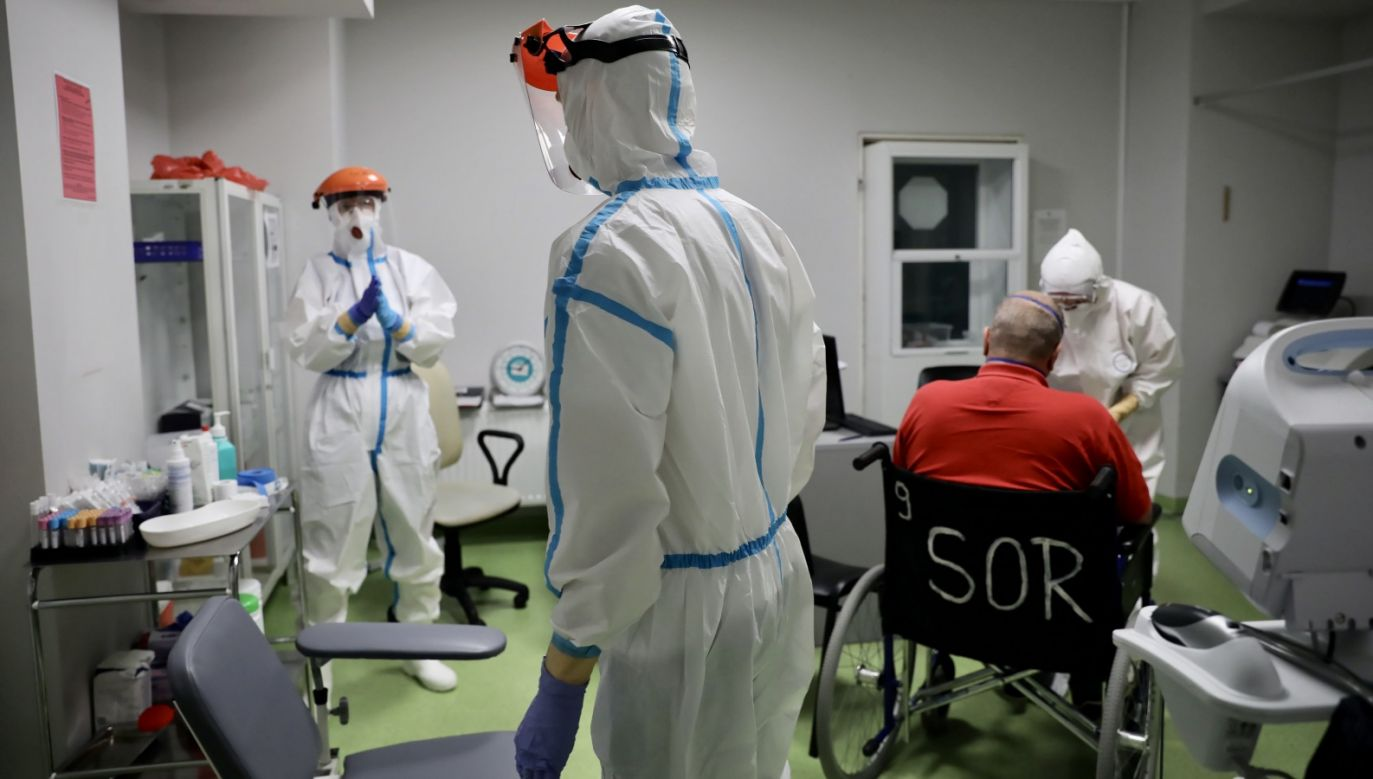 Najnowsze dane o epidemii (fot. PAP/Leszek Szymański)