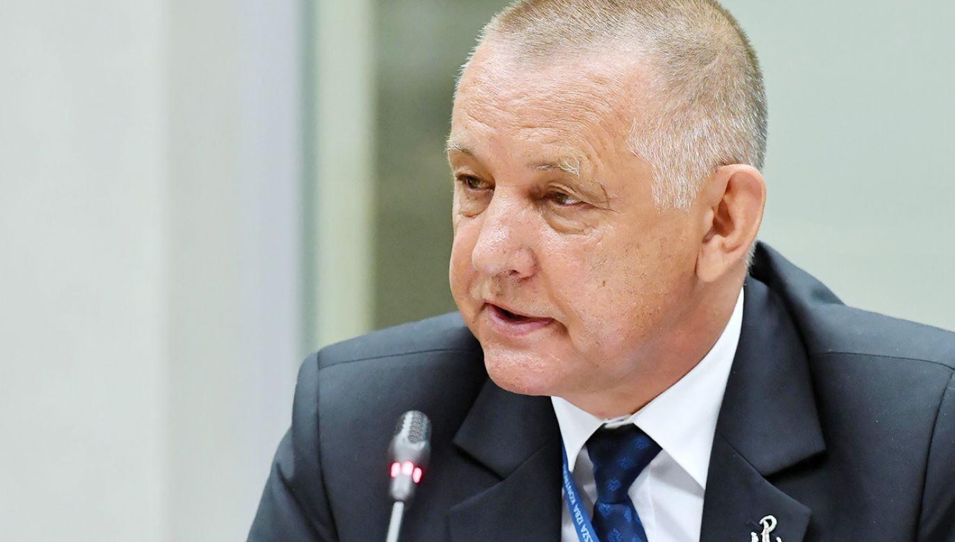 Wniosek w sprawie Banasia przekazano Marszałkowi Sejmu (fot. PAP/Piotr Nowak)