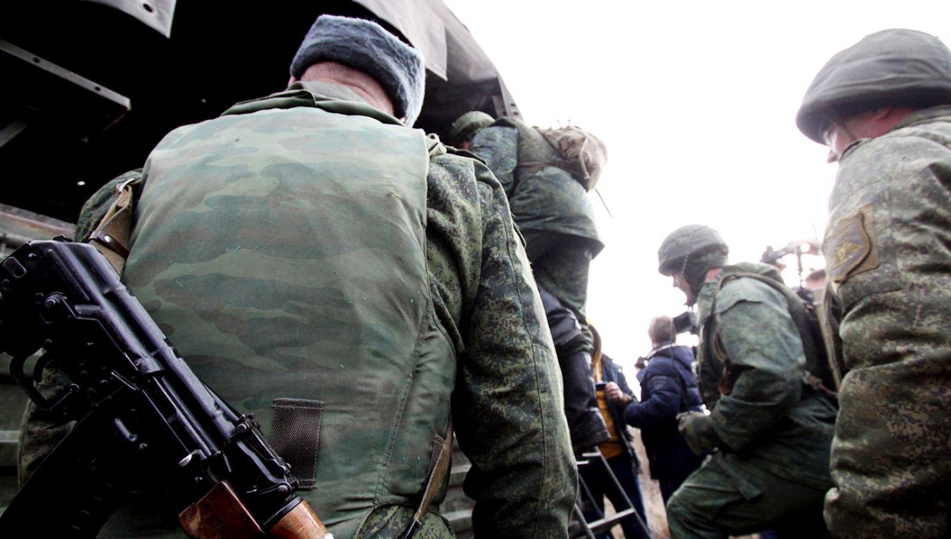 Walczył od początku działań zbrojnych w Donbasie (fot. Valentin Sprinchak\TASS via Getty Images)