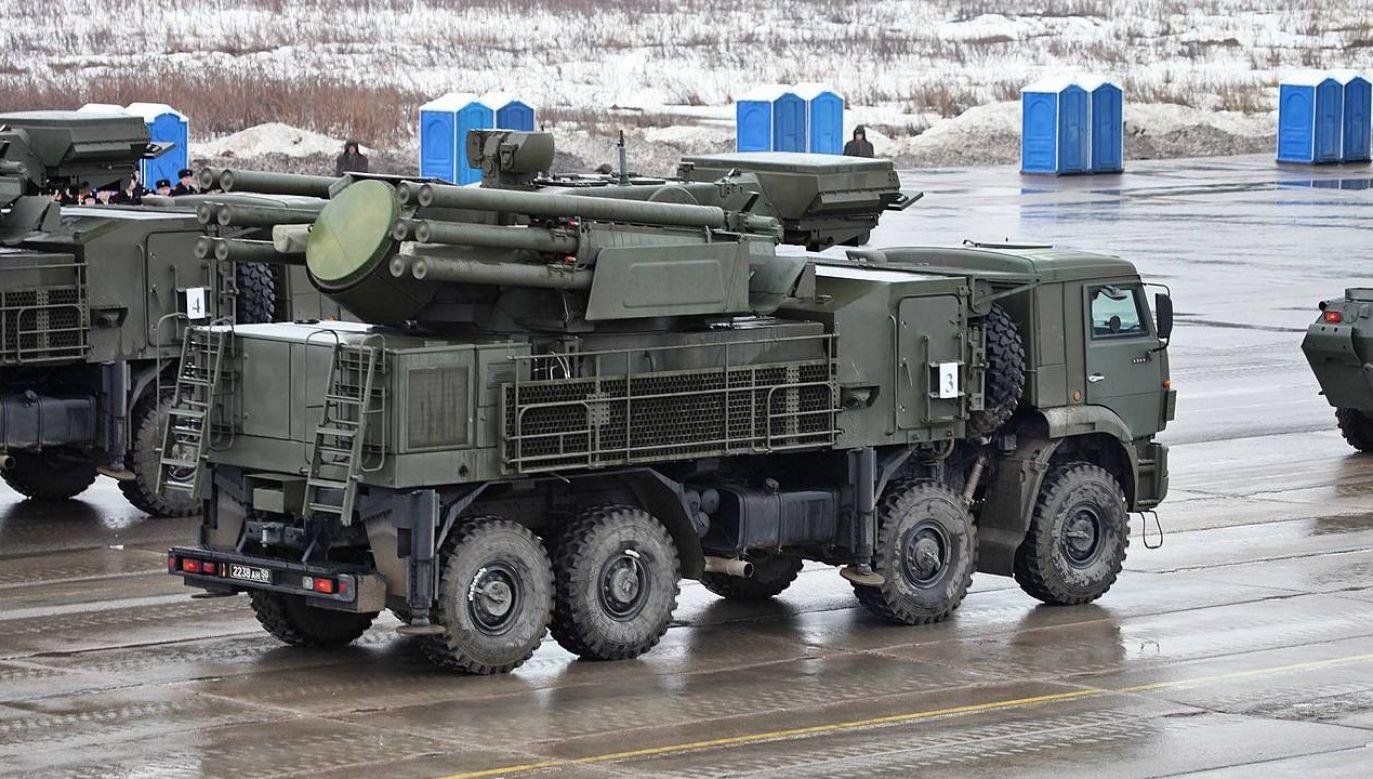 Rosja sprzedała do Mjanmy m.in. systemy rakietowe Pancyr-S1 (fot. Vitaly Kuzmin)