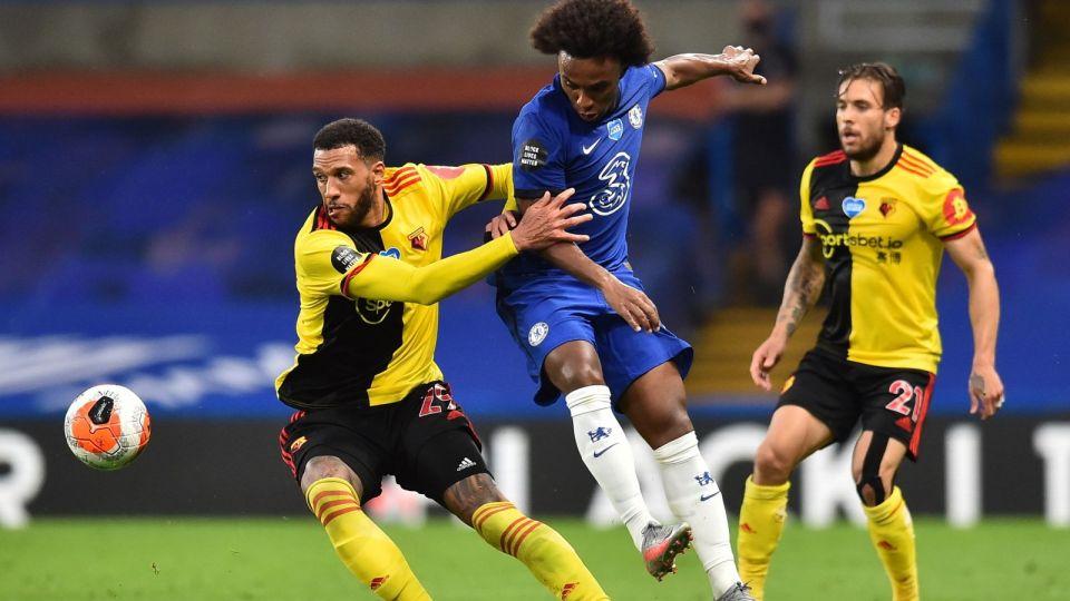 Premier League: Chelsea - Watford 3:0 (relacja, skrót, wynik, bramki, gole)