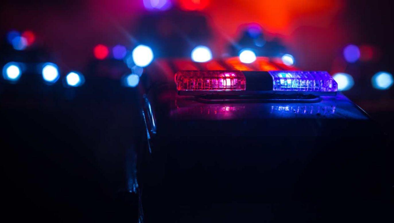 W działaniach ratowniczych brało udział 15 samochodów państwowej i ochotniczej straży pożarnej (fot. Shutterstock/zef art)