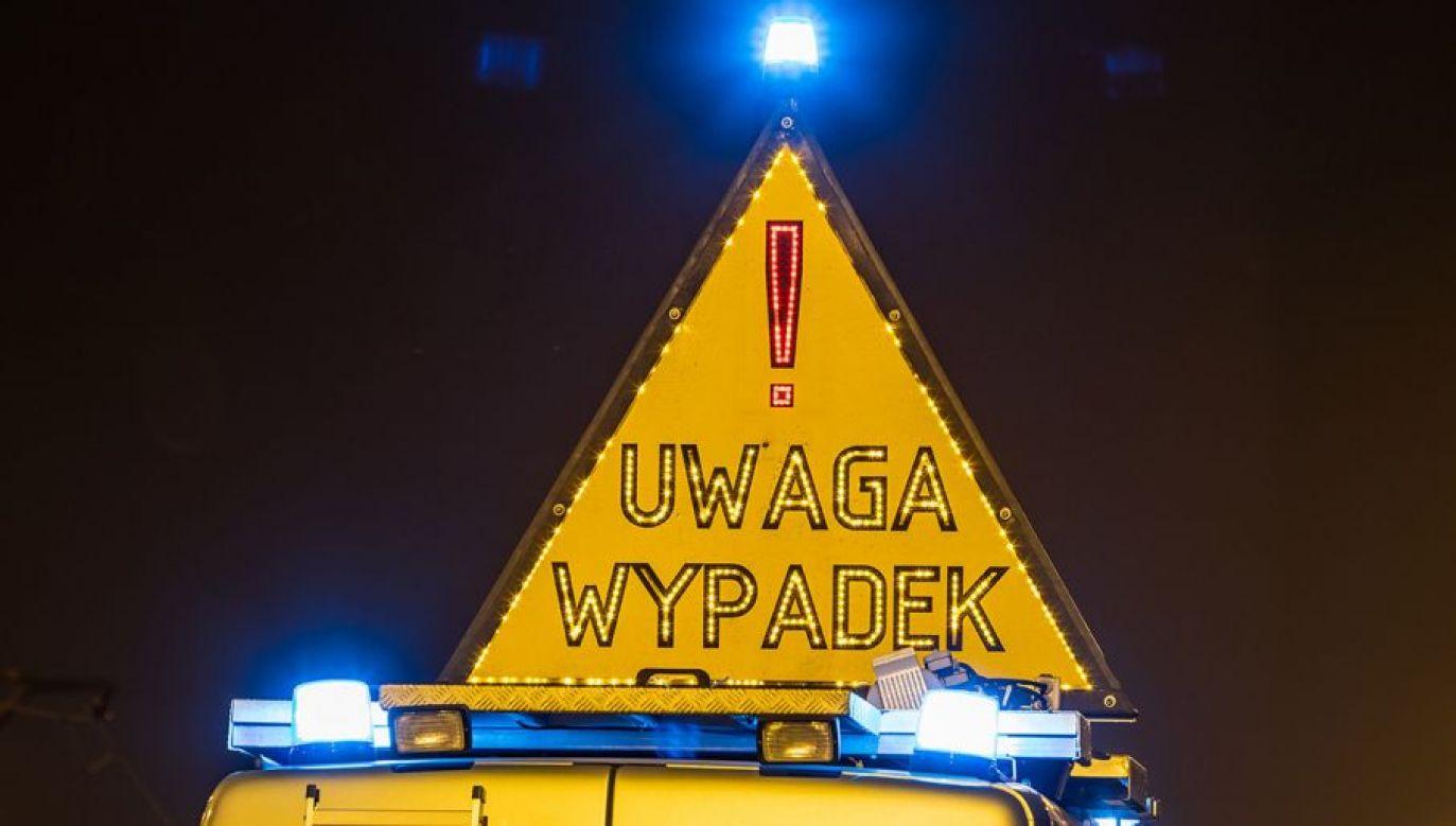 Do wypadku doszło na autostradzie w Woli Błędowej (Łódzkie) (fot. Shutterstock, zdjęcie ilustracyjne)