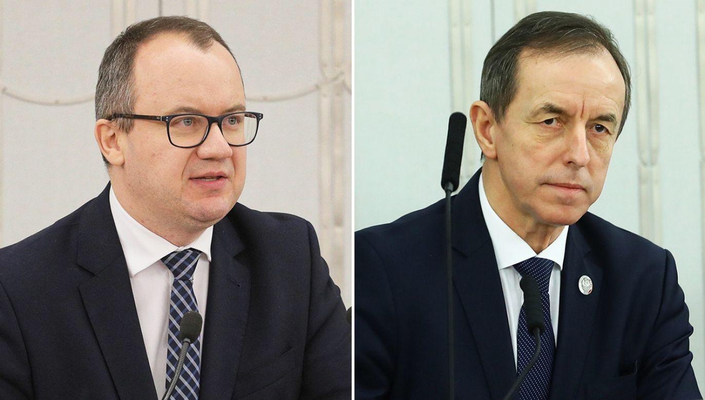 Skierowane do Bodnara pytania senatorów PiS uchylił marszałek Grodzki (fot. PAP/Paweł Supernak, Rafał Guz)