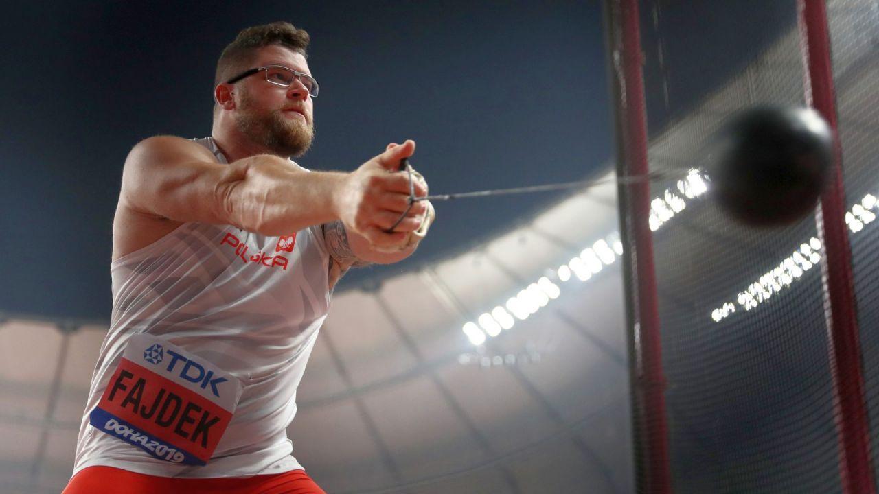 Paweł Fajdek, faworyt do medalu, w poniedziałek wystąpi w eliminacjach rzutu młotem (fot. Getty Images)