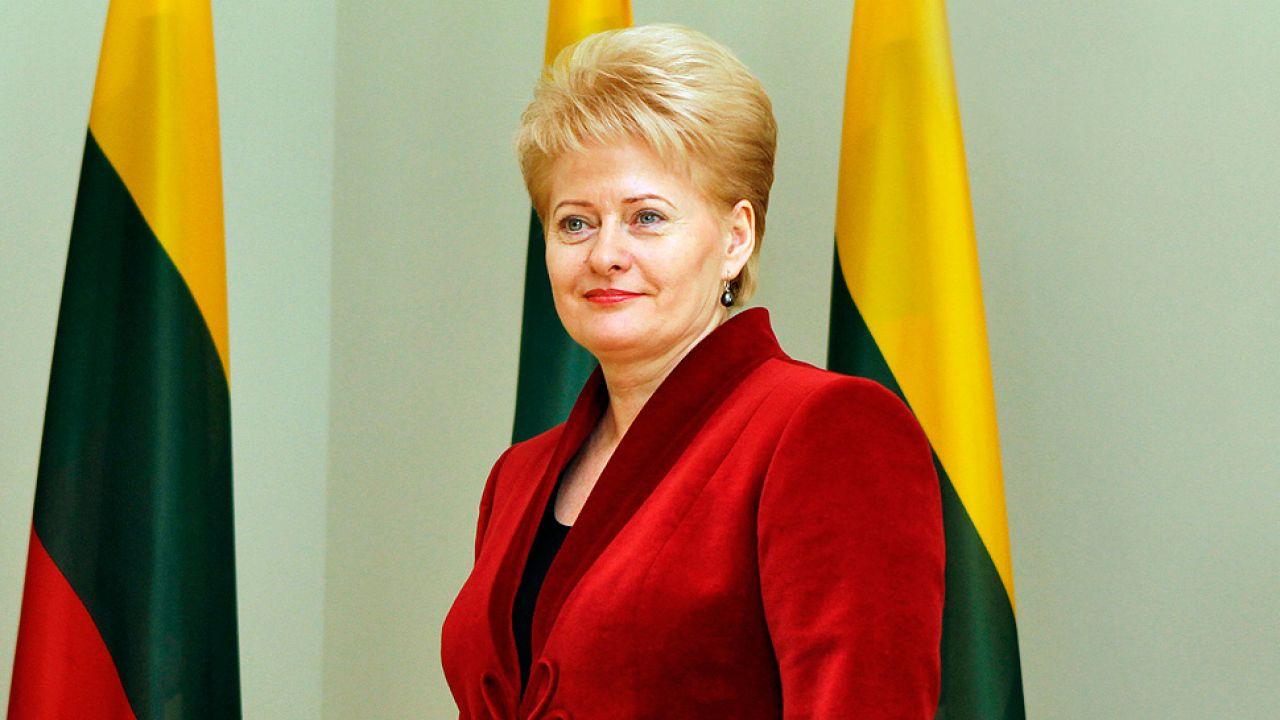 Prezydent Litwy Dalia Grybauskaitė stoi na stanowisku, że nasze kraje utrzymują normalne, poprawne stosunki (fot. Wikipedia)