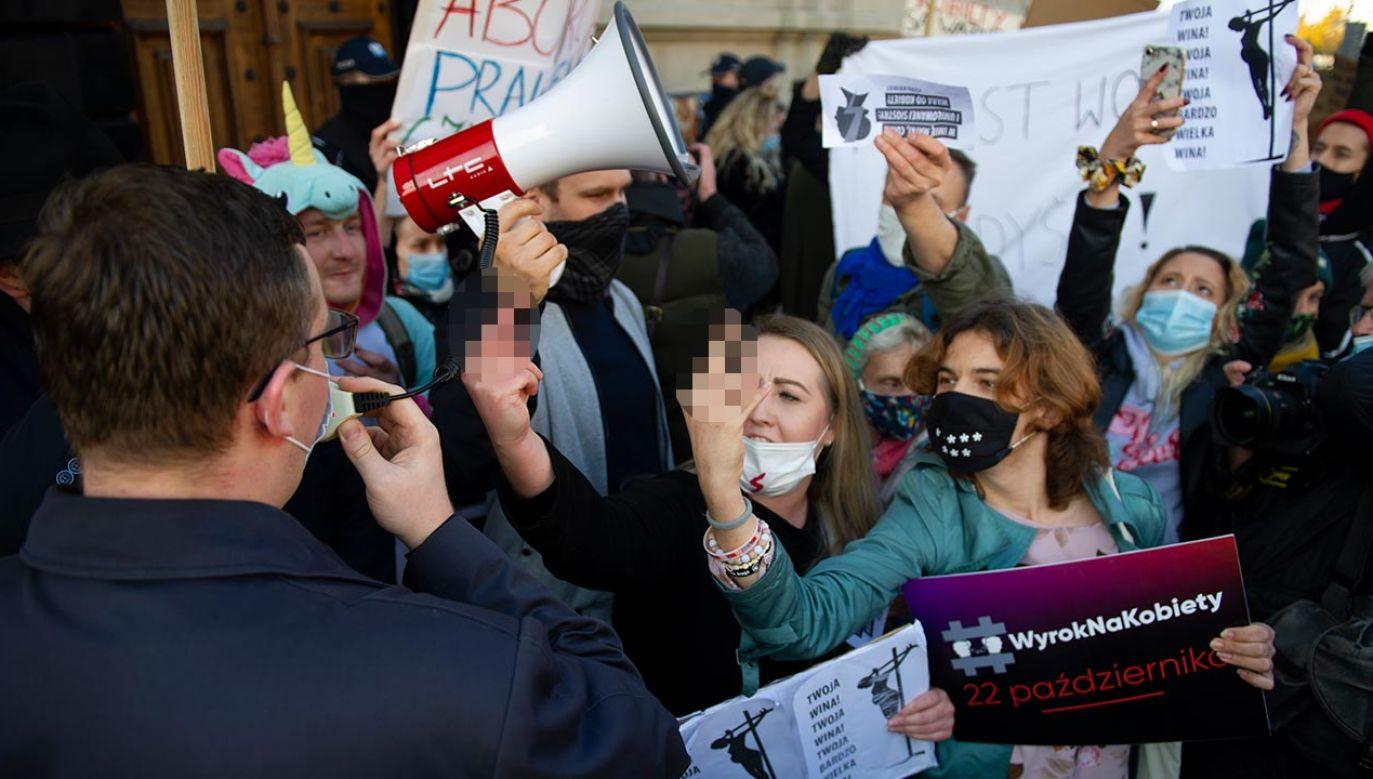 """Sobolewski wyraził nadzieję, że """"zostaną wyciągnięte wnioski, szczególnie przez organy ścigania"""" (fot. Aleksander Kalka/NurPhoto via Getty Images)"""