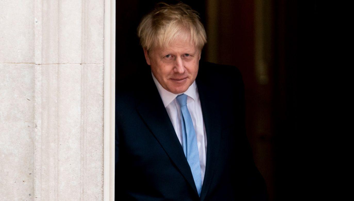 Boris Johnson nie wyklucza tzw. twardego brexitu (fot. PAP/EPA/WILL OLIVER)